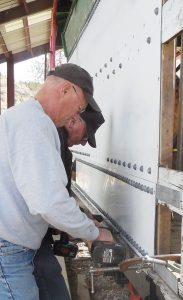 141112-Ron & Duane install panel-c